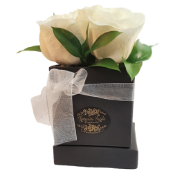 Caja Rosas Blancas