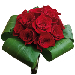 Bouquet de Rosas con follaje